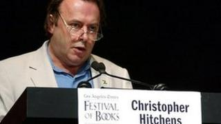 Writer Christopher Hitchens
