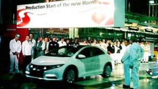 Honda plant in Swindon