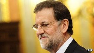 Spain Prime Minister Mariano Rajoy, 19 Dec 11