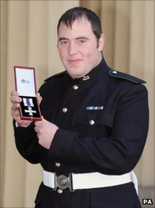 L/Cpl Andrew Wardle