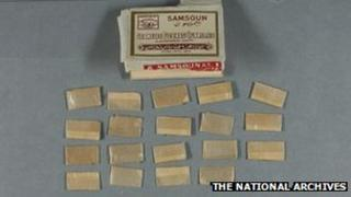 Sachets of heroin