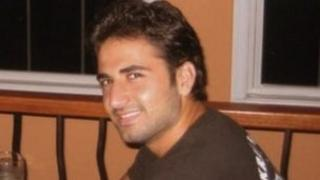 Amir Mirzai Hekmati - photo sent to the BBC by relatives