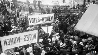 Suffragettes (generic image)