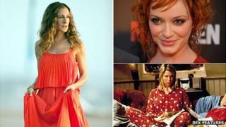 Sarah Jessica Parker, Christina Hendricks, Renee Zellweger as Bridget Jones