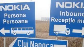 Nokia signs in Jucu