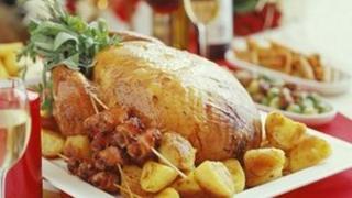 Christmas dinner generic