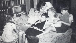 Dickens family reading