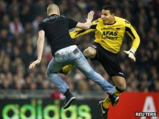 AZ Alkmaar goalkeeper Esteban