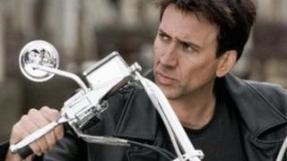 Nicolas Cage in Ghost Rider