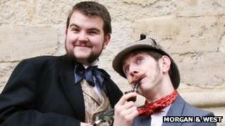 Rhys Jones (L) and Rob Hemmens (COPYRIGHT: Morgan & West)