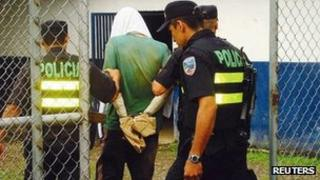 British man held by Costa Rican police