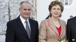 Martin and Mary McAleese
