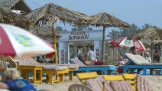 Goa beach, file pic