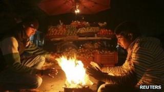 Traders in Jammu, Jan 2012