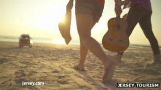 Still from Jersey Tourism TV advert