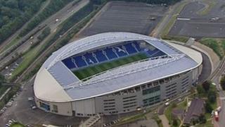 Brighton's new Amex Stadium
