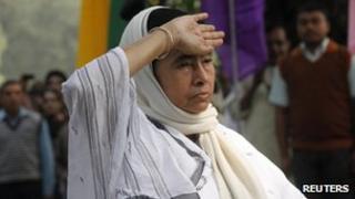 Mamata Banerjee, Calcutta, file pic