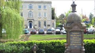 Council offices in Wellingborough