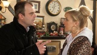 Simon Gregson as Steve and Katherine Kelly as Becky
