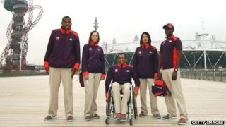 Games Makers at Olympic Park