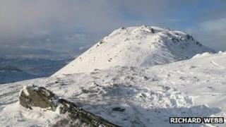 Ben Ledi. Pic copyright Richard Webb and licensed for reuse under Creative Commons Licence