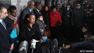 Doreen, mother of Stephen Lawrence, speaking at press conference, 3 January 2012