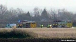 Ely helicopter crash
