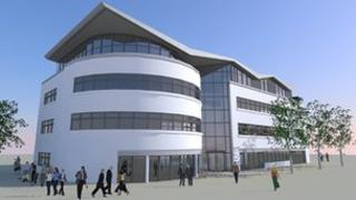Artist impression of The Street youth centre
