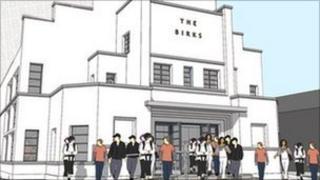 Artist's impression of Birks Cinema