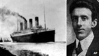 RMS Titanic and Wallace Hartley