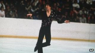 Robin Cousins skating in 2000
