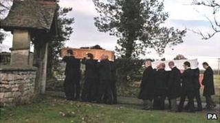 Funeral of Toby, Samantha and Genevieve Day