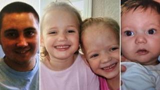 Reece, Ella and Holly and Jordan Smith