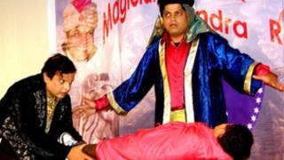 Jitendre (right) and Vijay Bhopale
