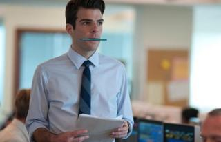 Zachary Quinto in Margin Call