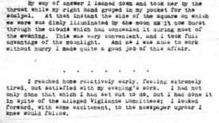 Manuscript extract