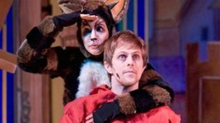 Dick Whittington and his cat, Bury St Edmunds Theatre Royal