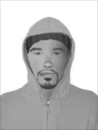 A Gwent Police efit of a man wanted for questioning in connection with a sexual assault on a 14-year-old girl in Malpas Road, Newport