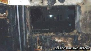Fire at home in Bellozane Avenue