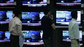 Indian news channels