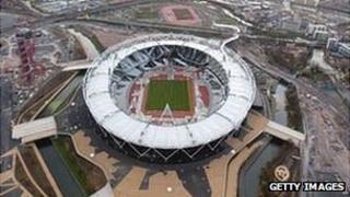 The London 2012 Olympic Stadium