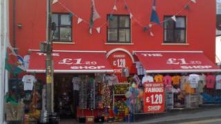 New Quay's £1.20 shop