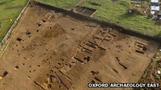 Roman excavations in Peterborough