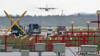 US Air Force base at Ramstein, Germany (file photo - 2007)