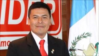Guatemalan Congressman Valentin Leal Caal on May 5 2009