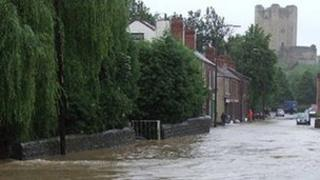 Flooding in Conisbrough