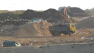Guernsey's waste landfill Mont Cuet