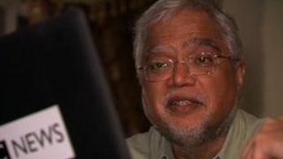 Senior British aid official Mukesh Kapila