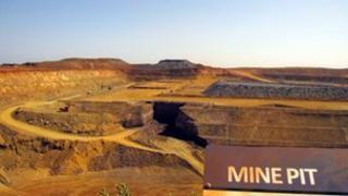 The Pilbara region of Western Australia,