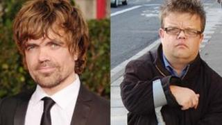 Peter Dinklage, US actor (l) Martin Henderson